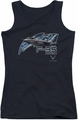 Air Force juniors tank top F35 black