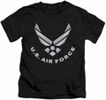 Air Force kids t-shirt Logo black