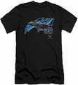 Air Force slim-fit t-shirt F35 mens black
