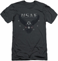 Air Force slim-fit t-shirt Incoming mens charcoal