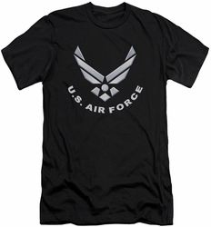 Air Force slim-fit t-shirt Logo mens black