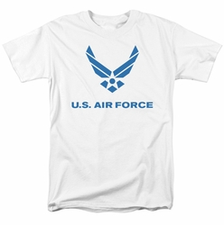 Air Force t-shirt Distressed Logo mens white