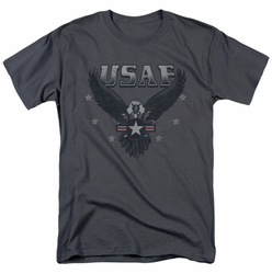 Air Force t-shirt Incoming mens charcoal