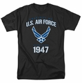Air Force t-shirt Property Of mens black