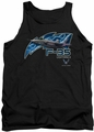 Air Force tank top F35 adult black