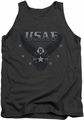 Air Force tank top Incoming adult charcoal