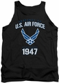 Air Force tank top Property Of adult black