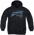 Air Force youth teen hoodie F35 black