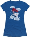Airplane juniors t-shirt Picked The Wrong Day royal