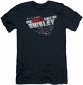 Airplane slim-fit t-shirt Dont Call Me Shirley mens navy
