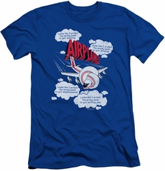 Airplane slim-fit t-shirt Picked The Wrong Day mens royal