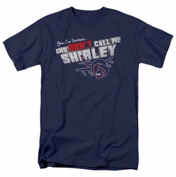 Airplane t-shirt Dont Call Me Shirley mens navy