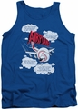 Airplane tank top Picked The Wrong Day mens royal