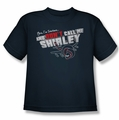 Airplane youth teen t-shirt Dont Call Me Shirley navy