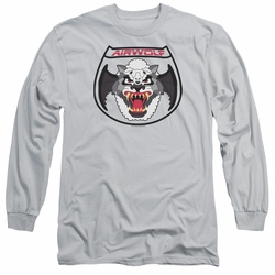 Airwolf adult long-sleeved shirt Patch silver