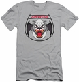 Airwolf slim-fit t-shirt Patch mens silver