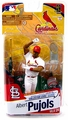 Albert Pujols action figure MLB Series 26 white jersey trophy