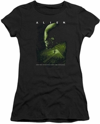 Alien juniors t-shirt Lurk black