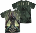 Alien mens full sublimation t-shirt Egg Collection
