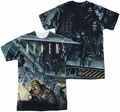Alien mens full sublimation t-shirt Lurking