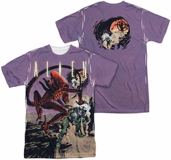 Alien mens full sublimation t-shirt Ready Or Not
