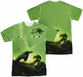 Alien mens full sublimation t-shirt Ship