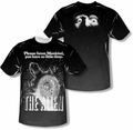Alien mens full sublimation t-shirt Vintage Fear