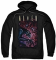 Alien pull-over hoodie Collection adult black