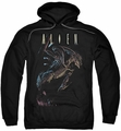 Alien pull-over hoodie Form And Void adult black