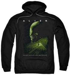 Alien pull-over hoodie Lurk adult black