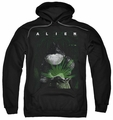 Alien pull-over hoodie Take A Peak adult black