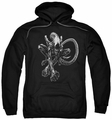 Alien pull-over hoodie Xenomorph adult black