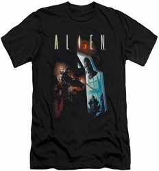 Alien   slim-fit t-shirt Around The Corner mens black