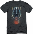 Alien   slim-fit t-shirt Bloody Jaw mens charcoal