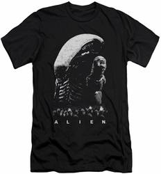 Alien   slim-fit t-shirt Evolution mens black
