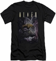 Alien   slim-fit t-shirt Hugger mens black