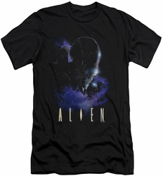 Alien   slim-fit t-shirt In Space mens black