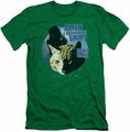 Alien   slim-fit t-shirt Jonesy mens kelly green