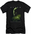 Alien   slim-fit t-shirt Lurk mens black