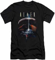 Alien   slim-fit t-shirt Planet mens black
