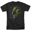 Alien t-shirt Acid Drool mens black