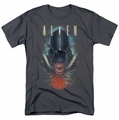 Alien t-shirt Bloody Jaw mens charcoal