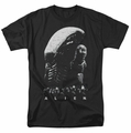 Alien t-shirt Evolution mens black