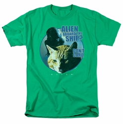Alien t-shirt Jonesy mens kelly green