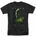 Alien t-shirt Lurk mens black