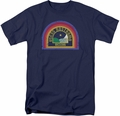 Alien t-shirt Nostromo mens navy