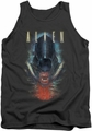 Alien  tank top Bloody Jaw mens charcoal