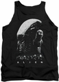Alien  tank top Evolution mens black
