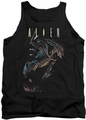 Alien  tank top Form And Void mens black