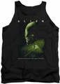 Alien  tank top Lurk mens black